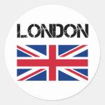 Londres Pegatinas Redondas