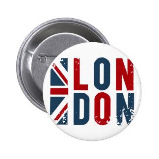 Londres Pin Redondo De 2 Pulgadas