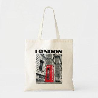 Londres que llama la bolsa de asas