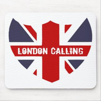 Londres que llama Mousepad Alfombrilla De Raton