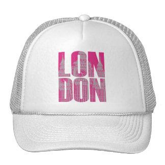 Londres rosado gorros