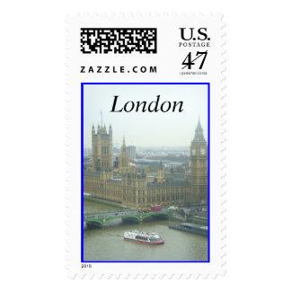 Londres Sello Postal