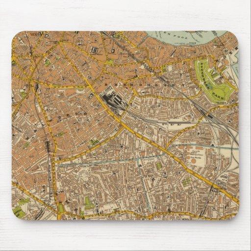 Londres suroriental tapetes de ratón