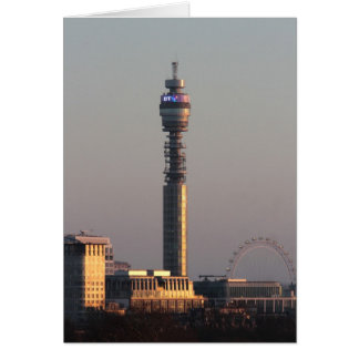 Londres Tarjeta De Felicitación