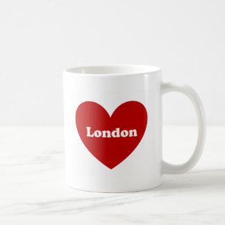 Londres Taza Básica Blanca