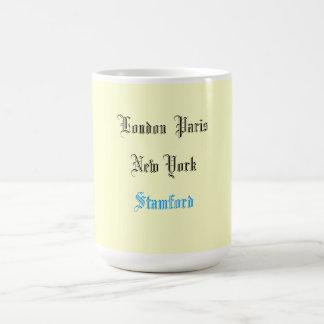 """""""Londres taza de café de París Nueva York"""""""