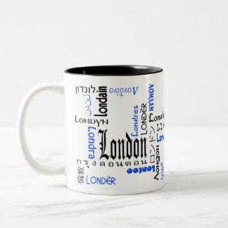 Londres Taza De Dos Tonos