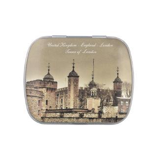 Londres - torre de Londres Frascos De Caramelos