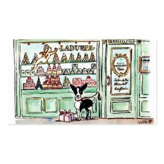 Londres visita el Patisserie de París Tarjetas De Visita