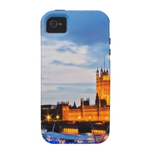 Londres Westminster Case-Mate iPhone 4 Carcasa