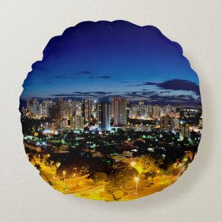Londrina, Brazil Round Pillow