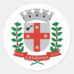 Londrina Parana, Brazil Round Stickers