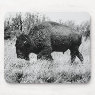 Lone Buffalo Mouse Pad