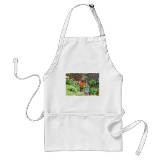 Lone Canna Lily Adult Apron