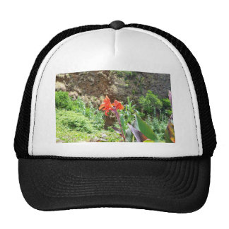 Lone Canna Lily Trucker Hats