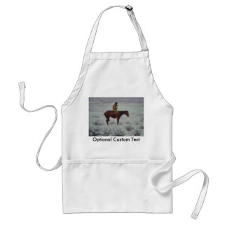 Lone Cold Brave Adult Apron