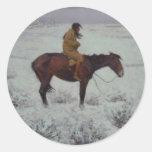 Lone Cold Brave Sticker