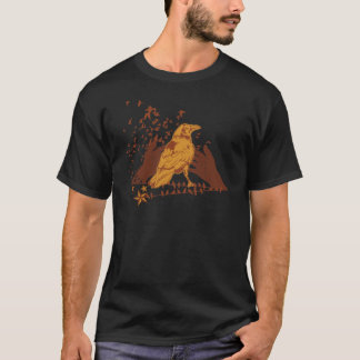 Lone Crow Illustration T-Shirt