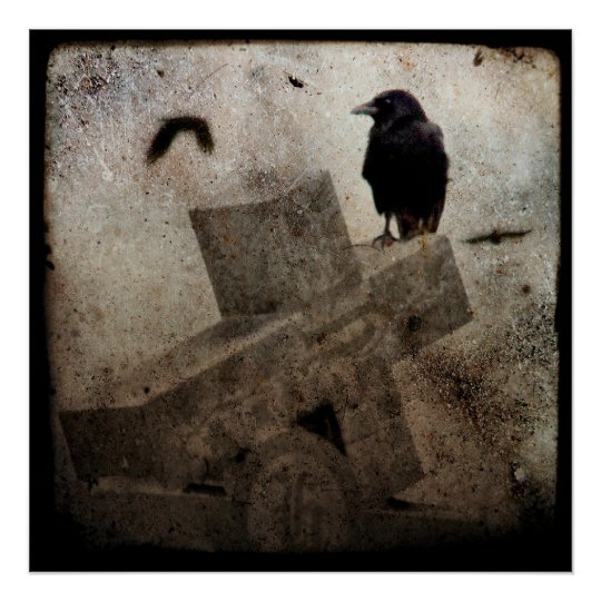 Lone Crow Poster