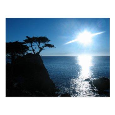 eye_of_tengri Lone Cypress Postcard