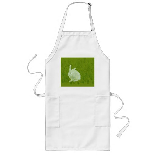 Lone Easter Rabbit Aprons