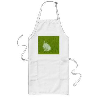 Lone Easter Rabbit Long Apron