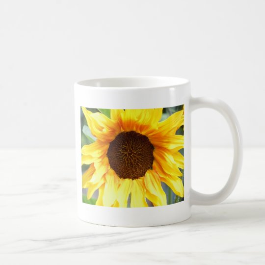 Lone Fiery Sunflower Coffee Mug