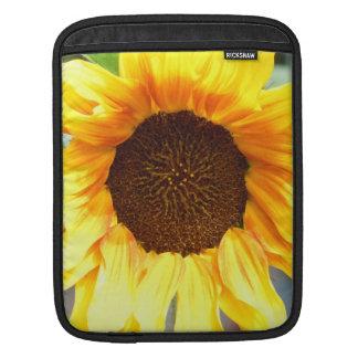 Lone Fiery Sunflower Sleeve For iPads