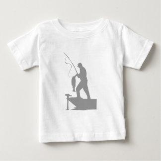 Lone Fisherman Baby T-Shirt