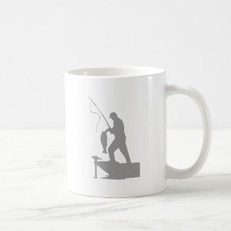 Lone Fisherman Coffee Mug