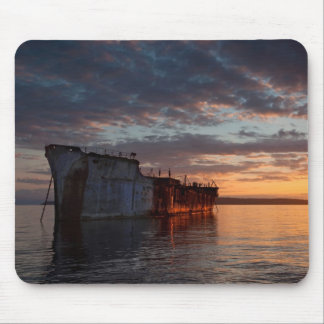 Lone Freighter Mouse Pad