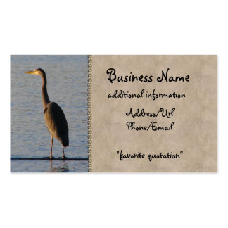 Lone Heron Business Cards