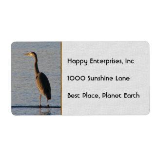 Lone Heron Label