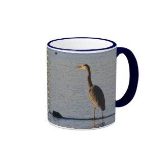 Lone Heron Mug