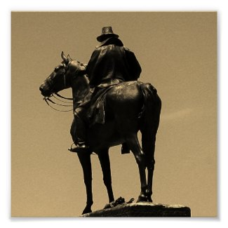 Lone Horseman Posters