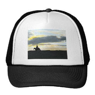 Lone Indian Rider in Sunset Trucker Hat