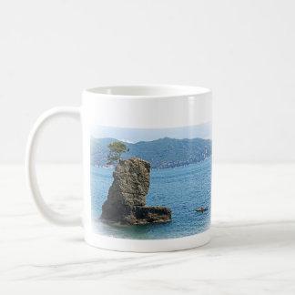 Lone Kayak - Santa Marherita Ligure, Italy Coffee Mug