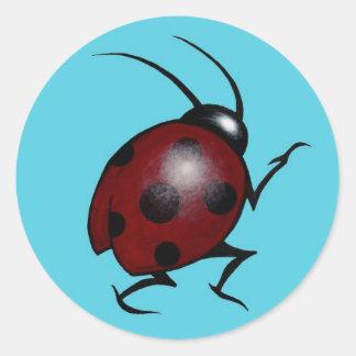Lone Ladybug Sticker