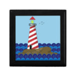 Lone Lighthouse Art Gift Boxes