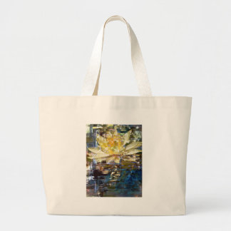 LONE LOTUS CANVAS BAGS