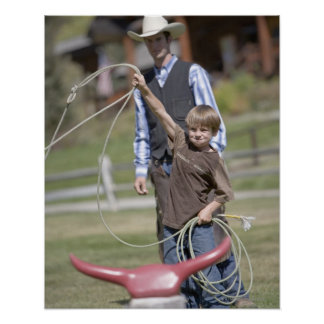 Lone Mountain Ranch, Big Sky, Montana, USA Poster
