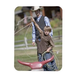 Lone Mountain Ranch Big Sky Montana USA Vinyl Magnet