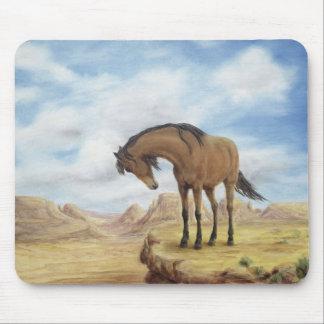Lone Mustang Horse Mousepads