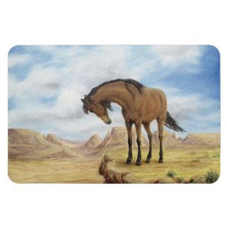 Lone Mustang Magnet