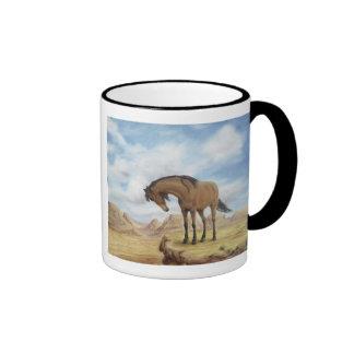 Lone Mustang Mug in Black