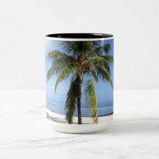 Lone Palm Two-Tone Coffee Mug