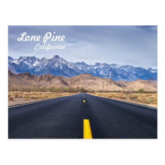 Lone Pine California Postcard
