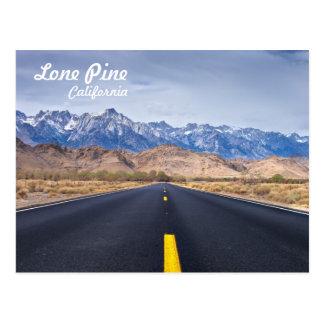 Lone Pine California Postcard