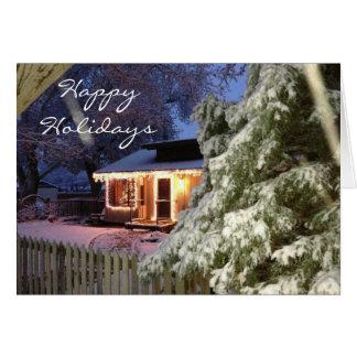 Lone Pine Holiday Card
