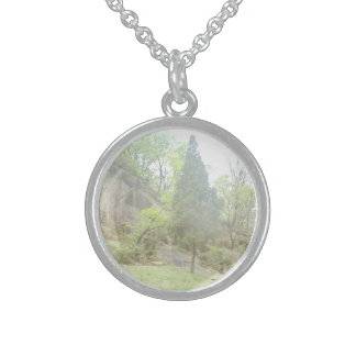 Lone Pine Tree Sterling Silver Necklace
